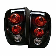 2002-2009 Chevy TrailBlazer Euro Style Tail Lights (PAIR) - Black (Spyder Auto)