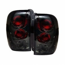 2002-2009 Chevy TrailBlazer Euro Style Tail Lights (PAIR) - Smoke (Spyder Auto)