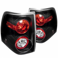 2003-2006 Ford Expedition Euro Style Tail Lights (PAIR) - Black (Spyder Auto)