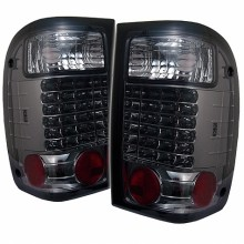2001-2005 Ford Ranger LED Tail Lights (PAIR) - Smoke (Spyder Auto)