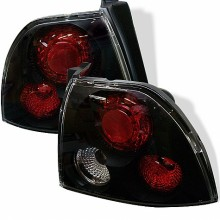 1994-1995 Honda Accord Euro Style Tail Lights (PAIR) - Black (Spyder Auto)
