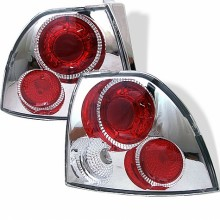 1994-1995 Honda Accord Euro Style Tail Lights (PAIR) - Chrome (Spyder Auto)