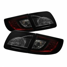 2003-2008 Mazda 3 4Dr Sedan ( Non Hatchback ) LED Tail Lights (PAIR) - Red Smoke (Spyder Auto)