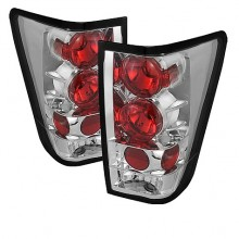 2004-2012 Nissan Titan Euro Style Tail Lights (PAIR) - Chrome (Spyder Auto)