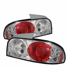 1993-2001 Subaru Impreza Euro Style Tail Lights (PAIR) - Chrome (Spyder Auto)