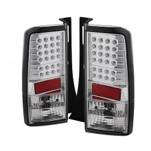 2003-2007 Scion XB LED Tail Lights (PAIR) - Chrome (Spyder Auto)