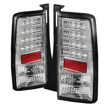 2003-2007 Scion XB Version 2 LED Tail Lights (PAIR) - Chrome (Spyder Auto)