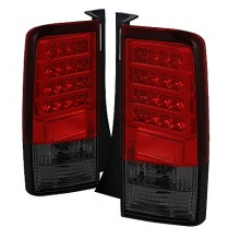 2003-2007 Scion XB Version 2 LED Tail Lights (PAIR) - Red Smoke (Spyder Auto)