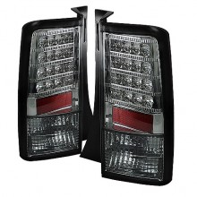 2003-2007 Scion XB Version 2 LED Tail Lights (PAIR) - Smoke (Spyder Auto)
