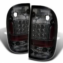 2001-2004 Toyota Tacoma LED Tail Lights (PAIR) - Smoke (Spyder Auto)