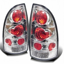 2005-2012 Toyota Tacoma Euro Style Tail Lights (PAIR) - Chrome (Spyder Auto)