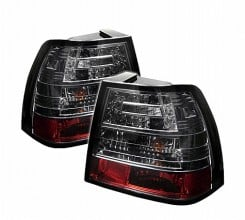 1999-2004 Volkswagen Jetta LED Tail Lights (PAIR) - Smoke (Spyder Auto)