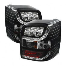 2001-2005 Volkswagen Passat 5Dr LED Tail Lights (PAIR) - Black (Spyder Auto)