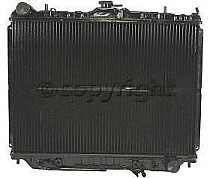 1998 - 2004 Isuzu Rodeo Radiator