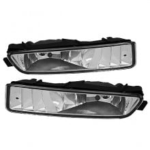 2002-2003 Acura TL OEM Fog Lights (PAIR) (Housing Only) - Clear (Spyder Auto)