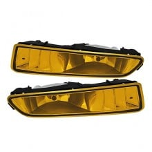 2002-2003 Acura TL OEM Fog Lights (PAIR) (Housing Only) - Yellow (Spyder Auto)