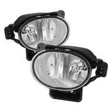 2007-2008 Acura TL OEM Fog Lights (PAIR) (Housing Only) - Clear (Spyder Auto)