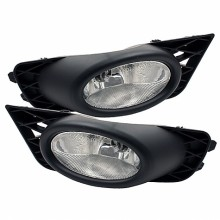 2009-2011 Honda Civic 4Dr OEM Fog Lights (PAIR) - Clear (Spyder Auto)