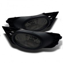 2009-2011 Honda Civic 4Dr OEM Fog Lights (PAIR) - Smoke (Spyder Auto)