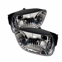 2002-2009 Chevy TrailBlazer OEM Fog Lights (PAIR) (Housing Only) - Clear (Spyder Auto)