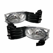 2008-2009 Honda Accord 2Dr OEM Fog Lights (PAIR) - Clear (Spyder Auto)