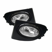 2002-2005 Honda Civic SI 3Dr 3DR OEM Fog Lights (PAIR) - Clear (Spyder Auto)