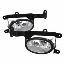2006-2008 Honda Civic 2Dr OEM Fog Lights (PAIR) - Clear (Spyder Auto)