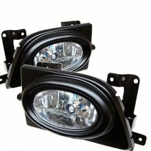 2006-2008 Honda Civic 4Dr OEM Fog Lights (PAIR) - Clear (Spyder Auto)