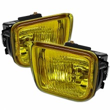 1996-1998 Honda Civic OEM Fog Lights (PAIR) - Yellow (Spyder Auto)