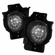 2008-2010 Nissan Altima 2Dr LED Fog Lights (PAIR) - Clear (Spyder Auto)