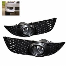 2007-2012 Mitsubishi Lancer OEM Fog Lights (PAIR) - Clear (Spyder Auto)