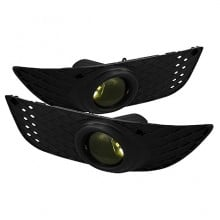 2007-2012 Mitsubishi Lancer OEM Fog Lights (PAIR) - Yellow (Spyder Auto)