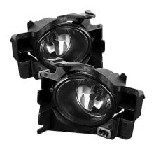 2008-2010 Nissan Altima 2DR OEM Fog Lights (PAIR) - Smoke (Spyder Auto)