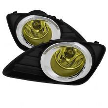 2010-2011 Toyota Camry OEM Fog Lights (PAIR) - Yellow (Spyder Auto)