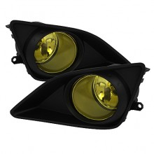2009-2010 Toyota Corolla OEM Fog Lights (PAIR) - Yellow (Spyder Auto)