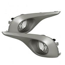 20 Toyota Highlander 2012 OE Style Fog Lights (PAIR) - Clear (Spyder Auto)