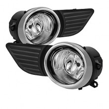 20 Toyota Sienna 2013 OEM Fog Lights (PAIR) - Clear (Spyder Auto)
