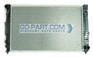 2000-2001 Audi S4 Radiator [Manual]