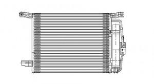 2008-2012 Honda Accord A/C (AC) Condenser