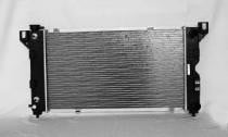 1996-2000 Dodge Caravan / Grand Caravan Radiator (2.4L / 3.0L / 3.3L / 3.8L / With Passenger Side Outlet)