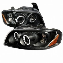 2004-2006 NISSAN  SENTRA  BLACK PROJECTOR HEADLIGHTS (PAIR)  (Spec-D Tuning)