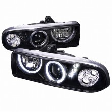 1998-2004 CHEVY  S10 PROJECTOR HEADLIGHTS (PAIR) BLACK HOUSING  (Spec-D Tuning)