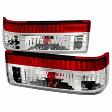 1983-1987 TOYOTA COROLLA ALTEZZA TAIL LIGHTS (PAIR) RED CLEAR (Spec-D Tuning)