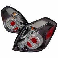 2007-2009 NISSAN ALTIMA LED TAIL LIGHTS (PAIR) CHROME (Spec-D Tuning)