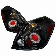 2007-2009 NISSAN ALTIMA LED TAIL LIGHTS (PAIR) BLACK (Spec-D Tuning)