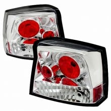 2005-2008 DODGE CHARGER ALTEZZA TAIL LIGHTS (PAIR) CHROME (Spec-D Tuning)