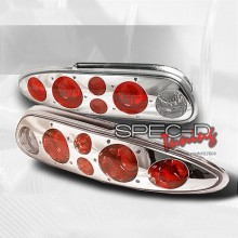 1993-2002 CHEVY CAMARO ALTEZZA TAIL LIGHTS (PAIR) CHROME (Spec-D Tuning)