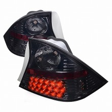 2001-2003 HONDA CIVIC LED TAIL LIGHTS (PAIR) SMOKE 2 DOOR (Spec-D Tuning)