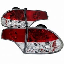 2006-2008 HONDA CIVIC ALTEZZA TAIL LIGHTS (PAIR) CHROME (Spec-D Tuning)