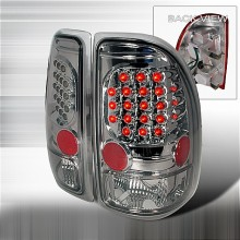 1997-2004 DODGE DAKOTA LED TAIL LIGHTS (PAIR) SMOKE (Spec-D Tuning)